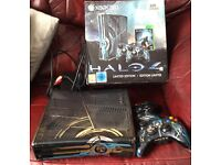 Swap Xbox 360 limited edition halo console 2 controllers for iPhone 5 with box must be in excell