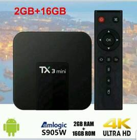 TX3 MINI BEST ANDROID TV BOX - 4K ULTRA HD HD SMART TV