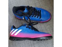 Kids Adidas Messi football trainers
