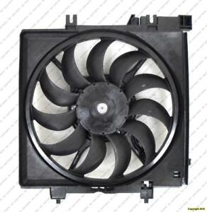 Radiator Cooling Fan Assembly 2.5L H4 With Turbo (Impreza Wrx) Subaru Impreza 2009-2011