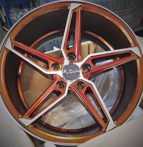 NEW! 17 inch CUSTOM COLOR CHANGING COLOR!!!  WITH NEW LOW PROFILE TIRES!!  LG23