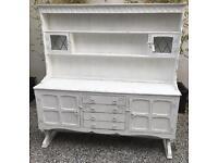 Professionally painted Shabby Chic Oak Dresser.
