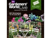 NEC Flower show