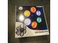 ProSound LED Strobe Pod Disco Lights Lighting