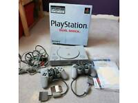 PlayStation original box 5 games £40