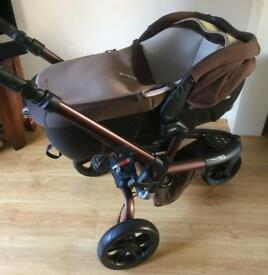 Jane Transporter 2 Carrycot and Trider Pushchair
