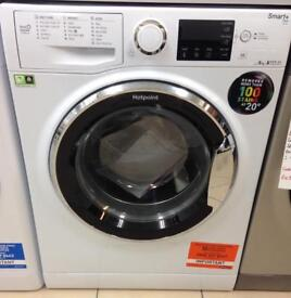 ***NEW Hotpoint 8kg 1400 spin washing machine for SALE with 1 year guarantee****