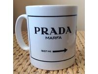 Gorgeous Designer 'Prada' Mug