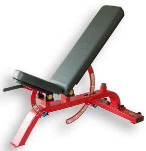 New eSPORT MONSTER T1039 Commercial Bench Flat / Incline to 90° Monster