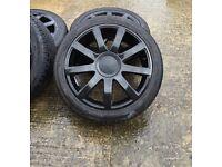 5x112 5x100 19 alloy wheels