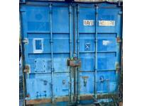 Wanted 2 20 foot shipping containers any condition