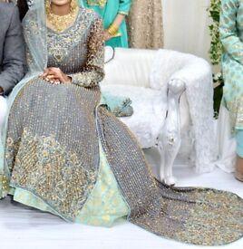 Asian Bridal Elegant Wedding Dress - Lengha Dress