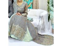 Asian Bridal Elegant Wedding Dress - Lengha Dress