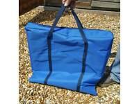 26 inch LCD/LED flat screen tv bag fully padded (blue)