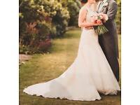 Stella York wedding dress, size 10