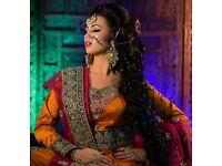 Asian Bridal Makeup Artist & Hairstylist