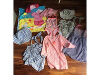 Girls summer clothes bundle size 5-6 years