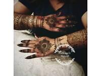 Bridal henna mehndi artist