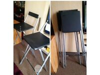 TWO BAR STOOLS. EXCELLENT CONDITION