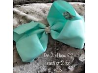 Girls bows clips