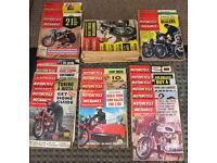 Motorcycle Scooter & Three-Wheeler Mechanics magazine 1959 - 1969, 23 motorcycling magazines