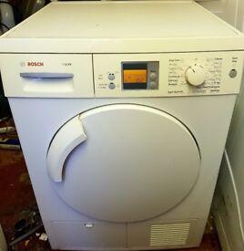 Bosch logixx condenser dryer