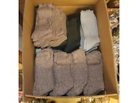 144 Pairs Mens Assorted Colours Wool Socks Warehouse Clearance Stock Job Lot Carboot Market Traders