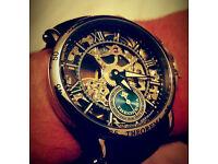 Mens watch, Theorema Casablanca GM 101-2 skeleton watch