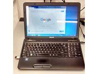 Superb Condition Pre-owned Toshiba Satellite C650 Win7 250GB-3GBRAM-DVD-RW-WiFi Laptop