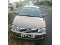 MAKE ME AN OFFER £400 RARE CAR KIA MENTOR LOW MILES LONG MOT.THE ONLY ONE ON SALE