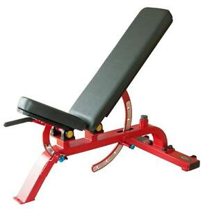 New Super Commercial Bench Flat / Incline to 90° Model 119 (Free Shipping)