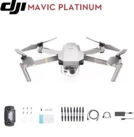 DJI Mavic Pro platinium