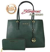 Michael Kors Green Wallet