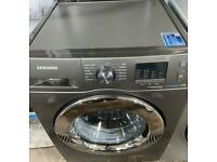 Samsung eco bubble new model 8 kg timer display fully working washing machine