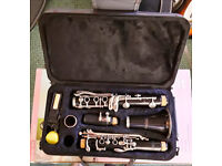 Bb Starter Clarinet plus case good condition