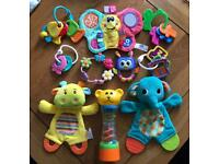 Bundle of 10 baby toys