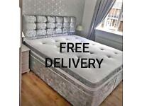 ❗️ New LUXURY BEDS * Made in the UK * FREE DELIVERY AND HEADBOARD ❗️