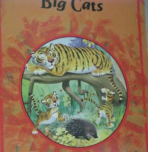 BIG CATS by JANE BRIERLEY, 16 COLOUR ILLUSTRATIONS BY TONY WOLF
