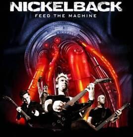 Nickelback Tickets SECC Glasgow