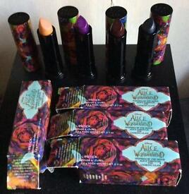 Rare urban decay Alice through the looking glass lipstick set bundle