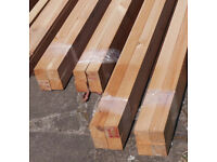 Planed square-edged joinery timber - 16 lengths - 44 x 44 mm
