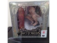 Lord of the rings Two Towers, Gollum , collectors DVD gift set