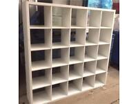 Ikea kallax 5x5 unit. 182x182 cms
