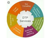 DTP, Presentations and Documents, Specialist Looking for Opportunities