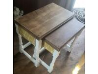 Retro 2x nest of tables/side tables
