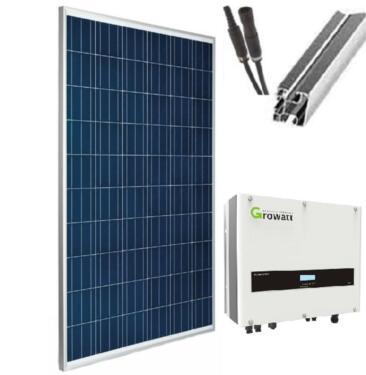 Photovoltaikanlage 10 Kwp Komplette Solaranlage Fur Ziegeldach In