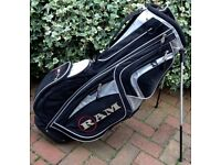 Ram Golf Carry Stand Bag Titleist Taylormade Ping V Near Mint Condition!