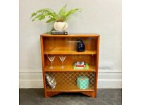 Vintage Bookcase Glass Cabinet