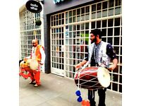 ****DHOL PLAYERS with ASIAN & ENGLISH DJ ROADSHOW****