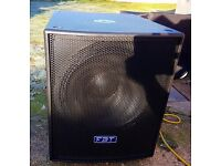 FBT SUBLINE 18SA ACTIVE 1200WATT RMS BASS SPEAKER